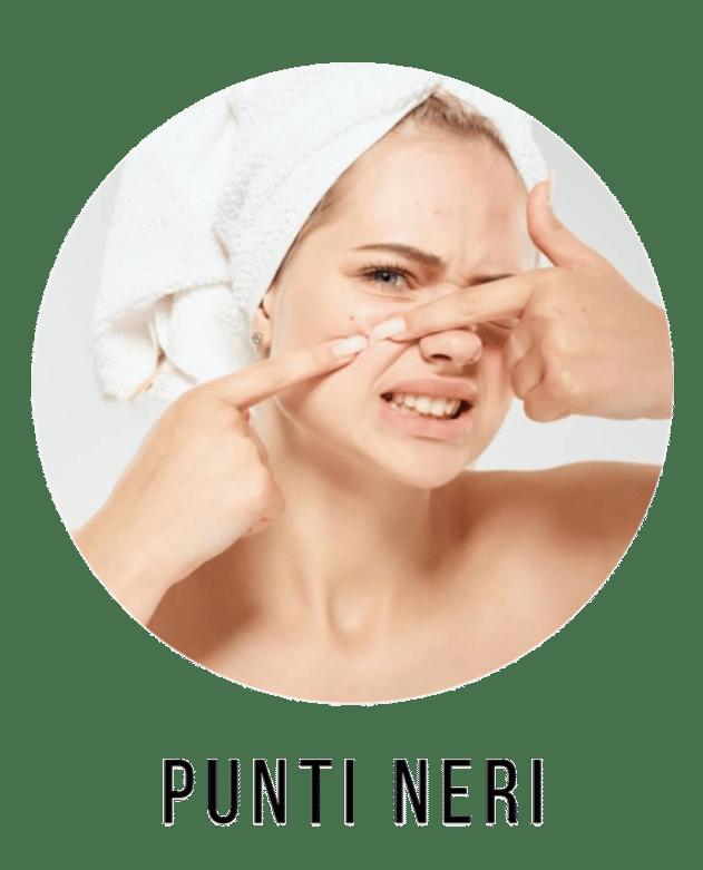 inestetismi della pelle del viso come curare i punti neri