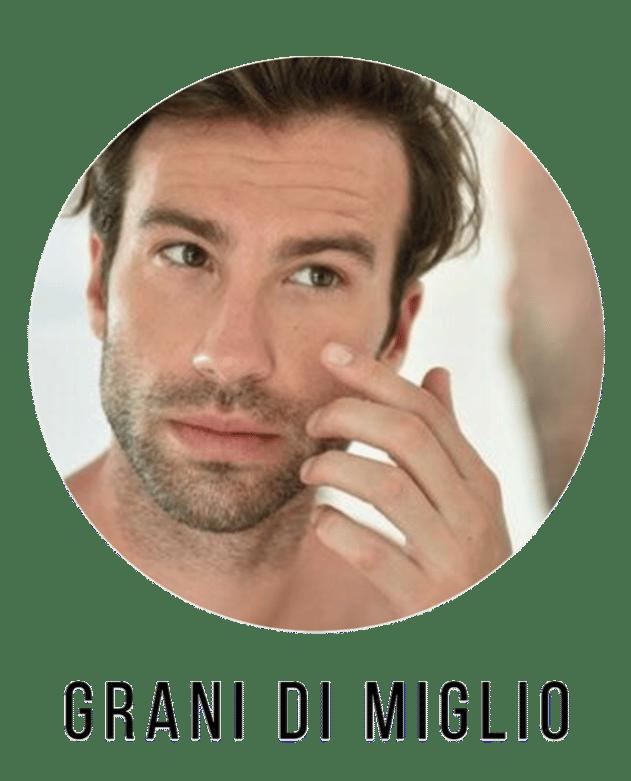 inestetismi della pelle grani di miglio i prodotti cosmetici da utilizzare