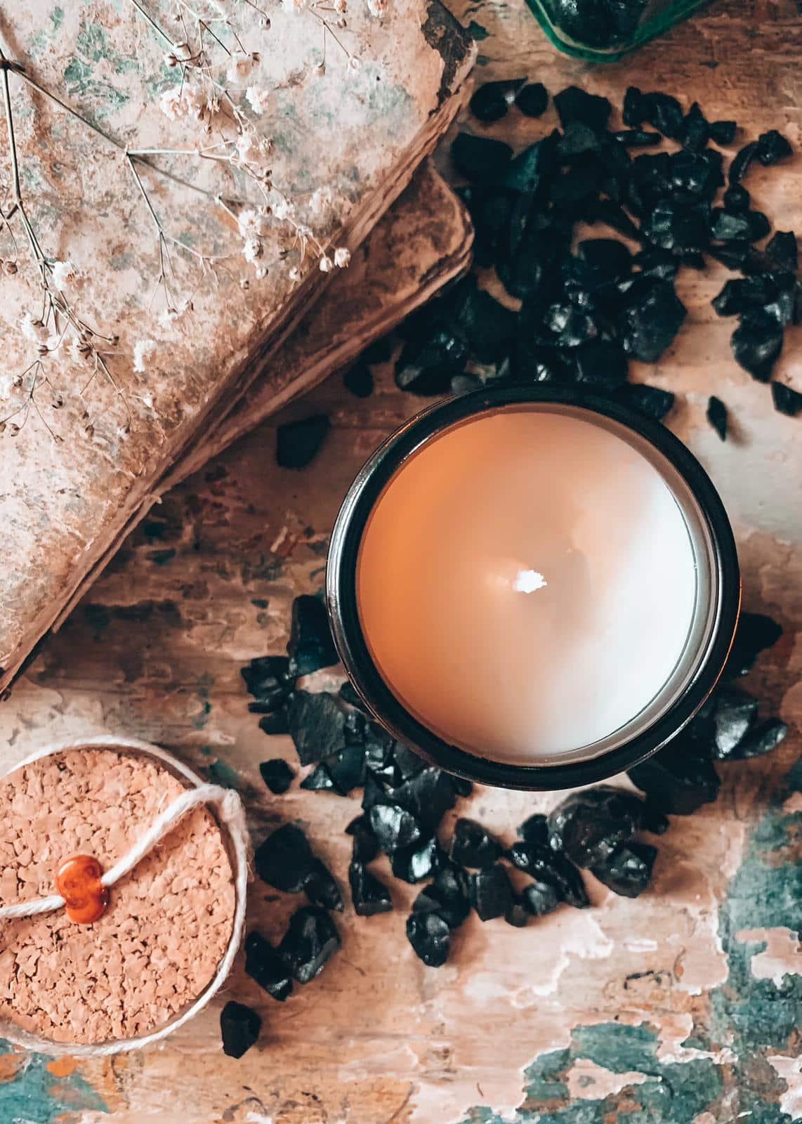Radice di liquirizia candela per la casa profumata di soia handmade Quello Sbagliato