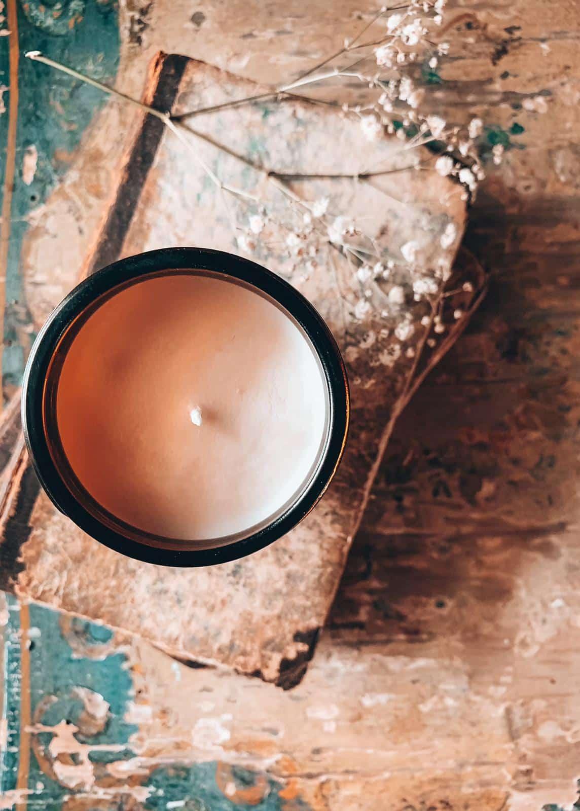 Vaniglia bourbon candela naturale per la casa profumata di soia handmade Quello Sbagliato