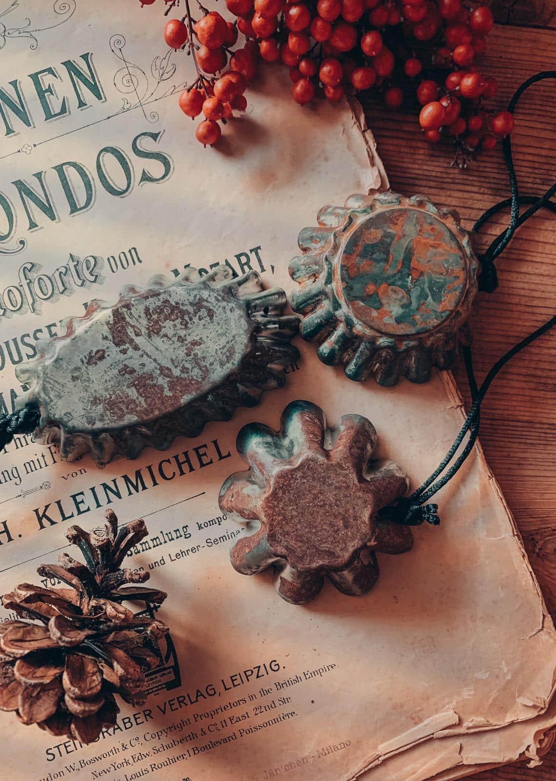 decorazioni natale vintage fatte a mano