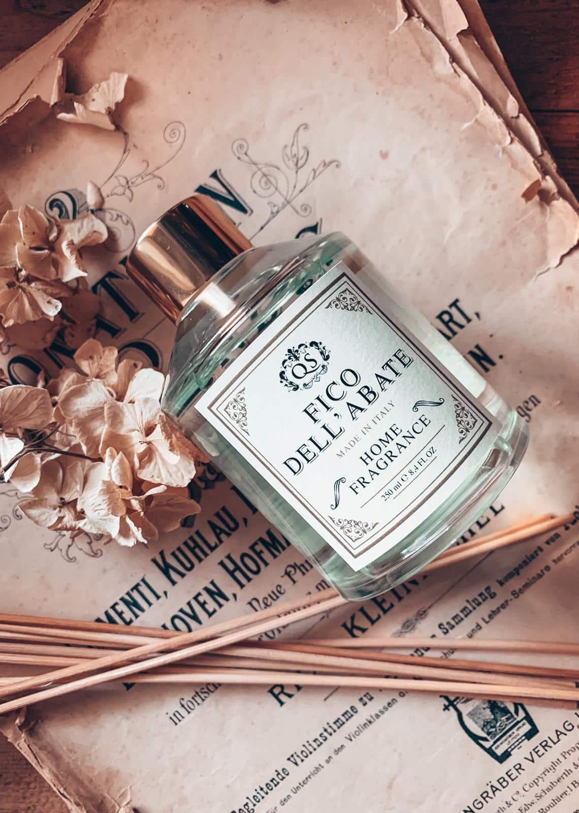 fragranza ambiente fico dell'abate dolce bastonciniacquista online fragranza casa