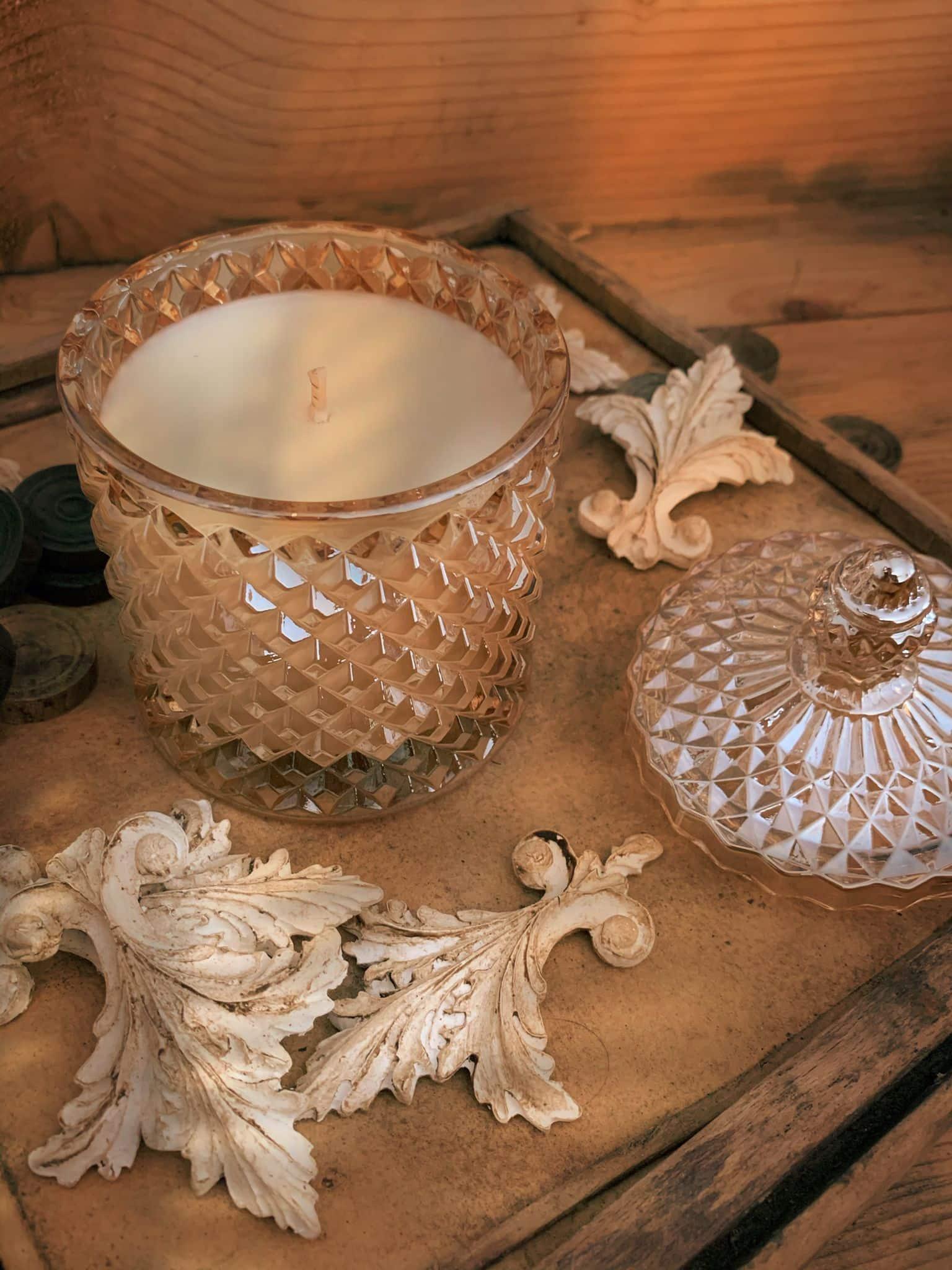 vendita online candela cera di soia biologica
