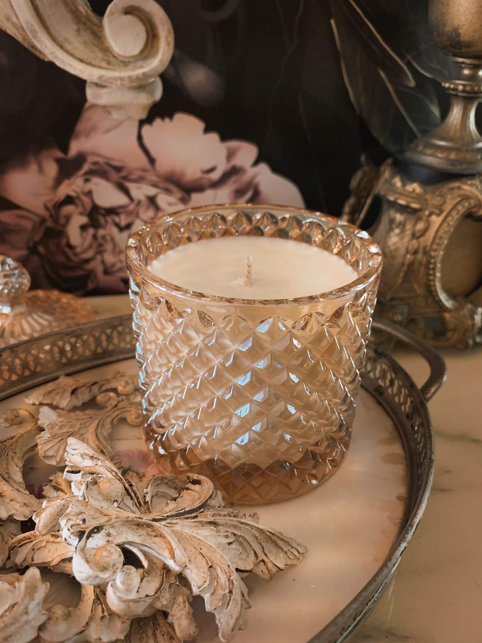 vendita online candele al vino oro di bacco cera di soia biologica