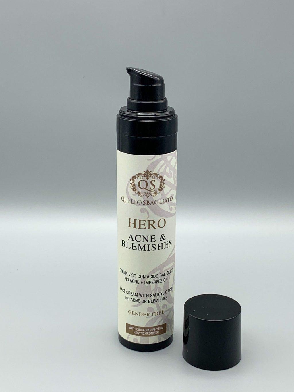 Crema viso con acido salicilico no acne e imperfezioni Hero - Acne & Blemishes